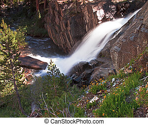 Ansel Adams Wilderness Scene - Ansel Adams Wilderness is a...