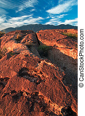 Volcanic Tablelands in California - The Volcanic Table Lands...