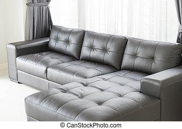 modern sofa in living room