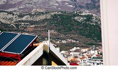 New homes in Budva, Montenegro. New town. Real estate on the...