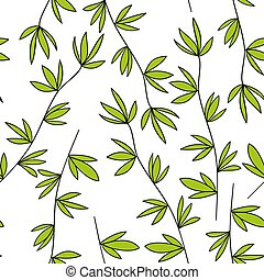 Seamless pattern of the branches