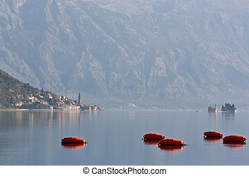 Perast & Church - Perast on Kotor Bay, Montenegro