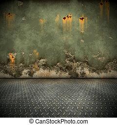 steel floor - An image of a nice steel floor background