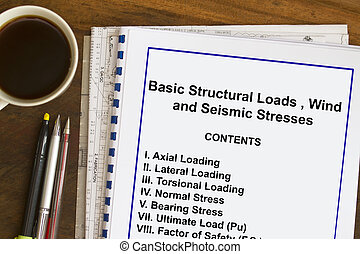 All about material stress - Subject matter and table of...