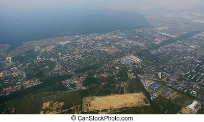 Belgrade from the aircraft