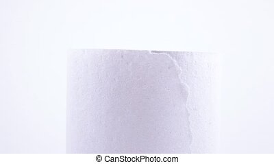 Roll of toilet paper - Rotating the roll of toilet paper