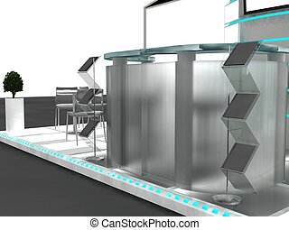 Exhibition Stand InteriorExterior Sample
