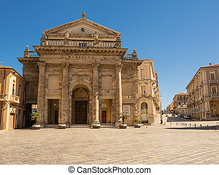Cathedral of the city of Lanciano in Abruzzo