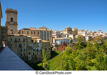 Panorama of the city of Lanciano in Abruzzo (Italy)