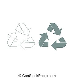 Recycling arrows in a circle