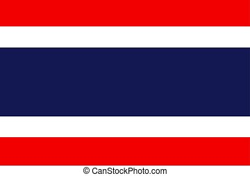 Flag of Thailand Official symbol of the country