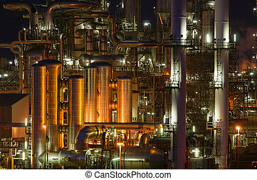 Refinery - Intimate details of a chemical production...