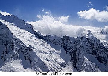 Mountains. Caucasus, Dombai.