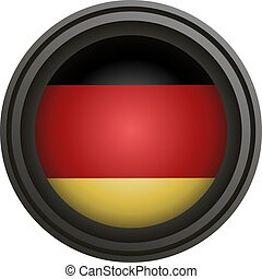 circle Germany medal design
