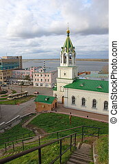 John the Baptist church in Nizhny Novgorod, Russia