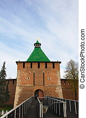 Kremlin Gate - The south-west kremlin gate and bridge in...