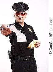警察, 官員