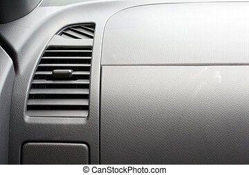 Car accessories ducting air conditioning. Air conditioner in...