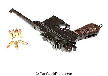 Old gun - An old World War 2 German pistol