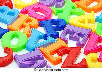 letras, fundo