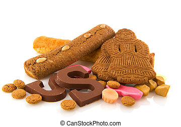 Traditional Dutch delicacy for Sinterklaas holidays -...