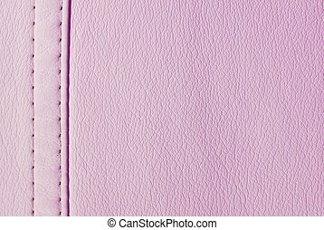 pink leather seam texture