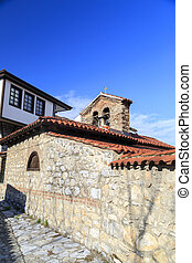 Generic architecture of Ohrid town in FYR Macedonia. Detail...