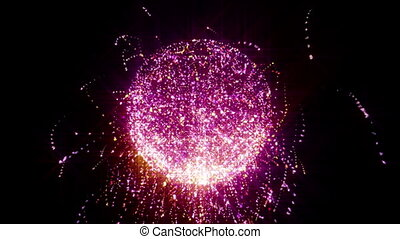 magic ball particle abstract