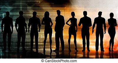 Futuristic Technology Team of Innovators and Entrepreneurs