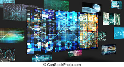 Big Data Sales and Marketing Abstract Concept