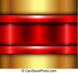 Background red metalic