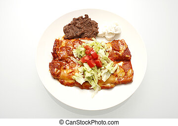 placa,  Enchiladas