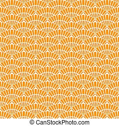 Japanese gold seamless pattern