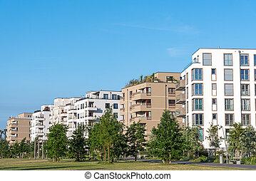 New urbanization zone in Berlin - New urbanization zone seen...