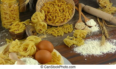 Macaroni Pasta Pastry  Delicious Carbohydrate Concept