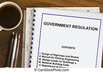 Government Regulations and Code