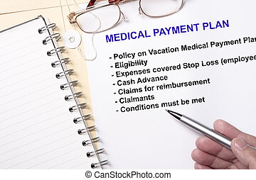 Medical payment plan - many uses in the manufacturing...
