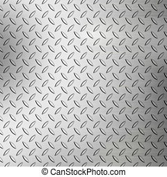 Rough Diamond Plate Texture - Steel diamond plate background...