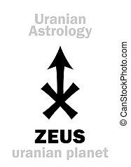 (uranian,  astrology:,  zeus,  planet)