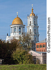 Orthodox Cathedral in the Sumy - View of the Orthodox...