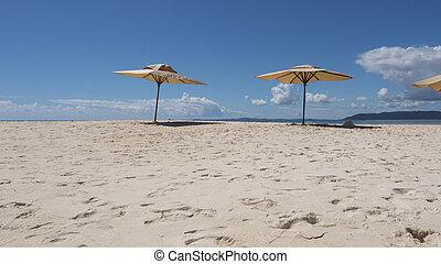Madagascar - Beach in Nosy Iranja, Island Madagascar
