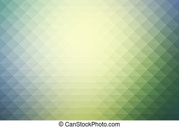 Yellow purple grey rows of triangles background