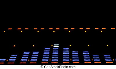 Acoustic image equalizer spectrum analyzer. EQ. This is a...