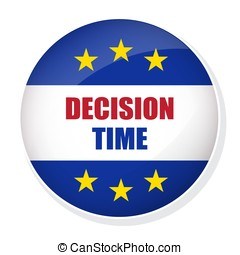 Decision Time pin button