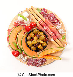 antipasto and snacks