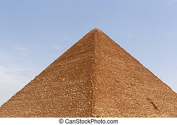 Great Pyramid of Cheops in Giza