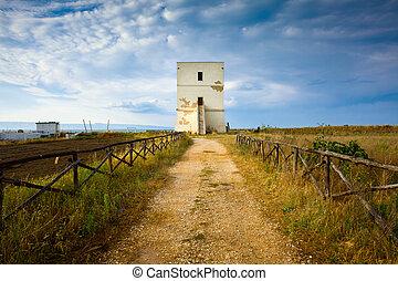Torre Pietra, an Historical Building at Margherita Di...