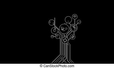 Ecological Icons Tree With Alpha Channel - Ecological Icons...