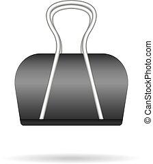 paper clip realistic  vector
