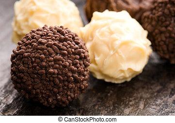 chocolate truffles assortment